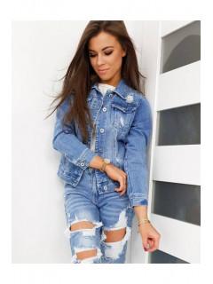 Moteriškas džinsinis jakk Cecilia