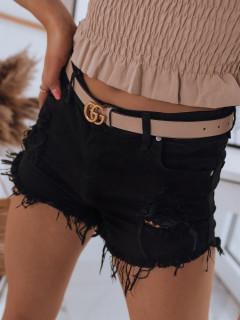 Naiste teksapüksid (Musta) Almina