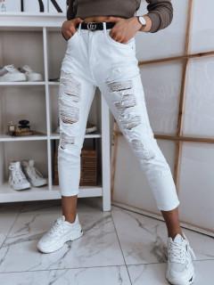 Moteriški džinsai (valget värvi) Delina