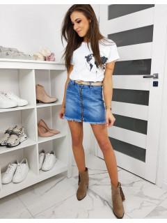 Moteriškas džinsinis sijonas Modela