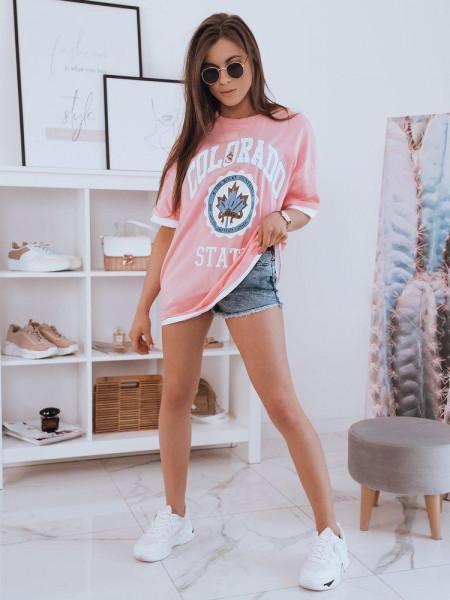 Naiste T-särk (Roosa) Lippa