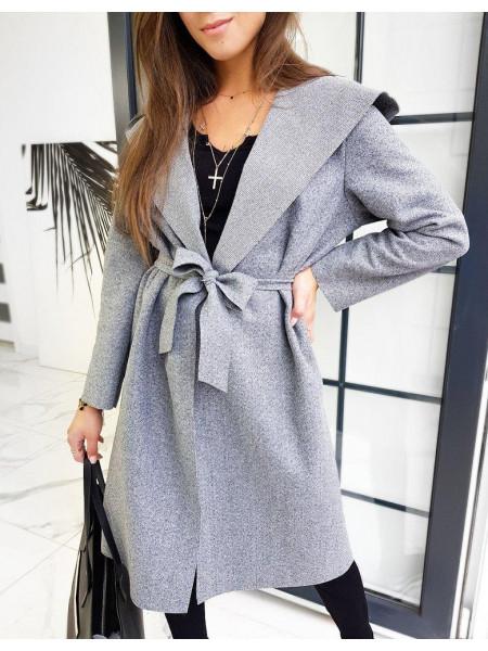 Moteriškas paltukas Dasy (helehalli värvi)