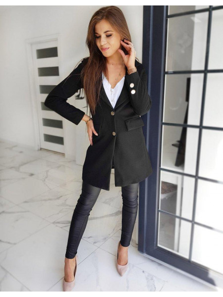 Moteriškas paltukas Tyrra (Musta)