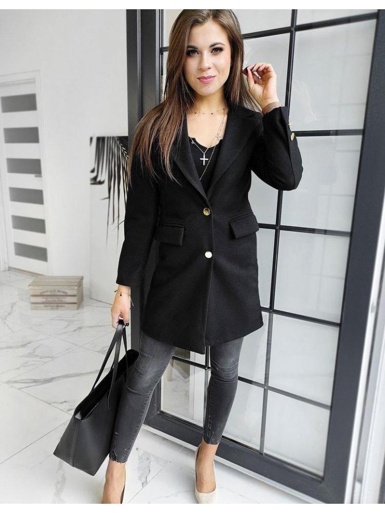 Moteriškas paltukas (Musta) Harieta