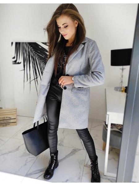 Moteriškas paltukas (helehalli värvi) Simona