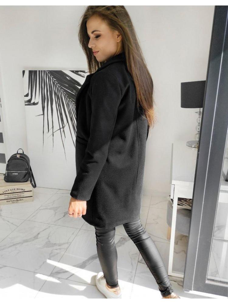 Moteriškas paltukas (Musta) Lucy