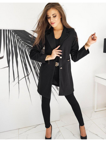 Moteriškas paltukas Silvia (Musta)