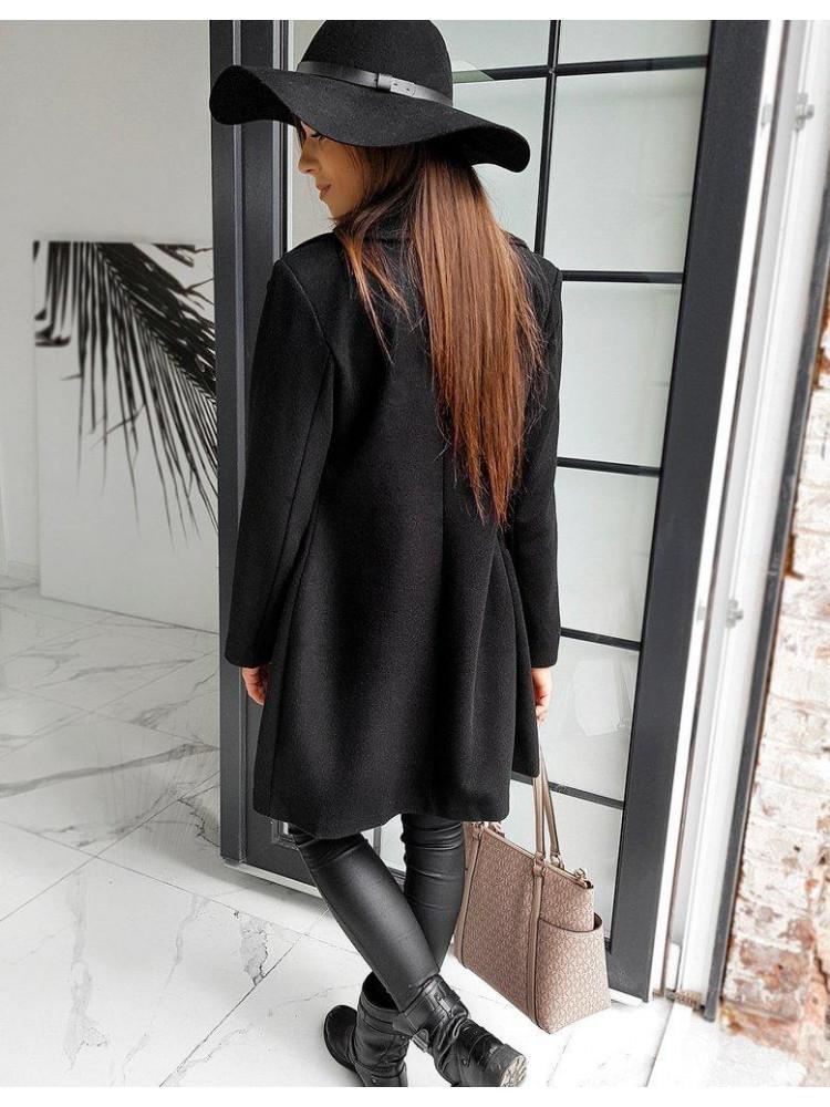 Moteriškas paltas Evelina (Musta)