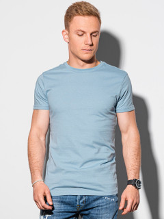 Meeste tavaline t-shirt S1370 - helesinine Cooper