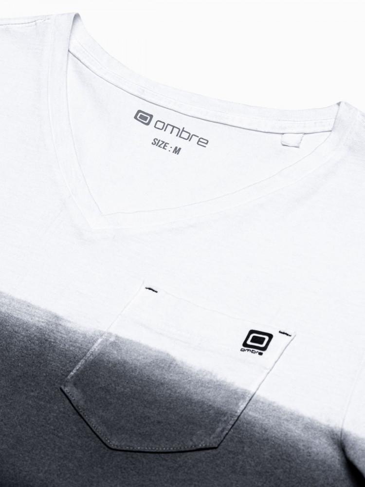Meeste tavaline t-shirt S1380 - must Rowan