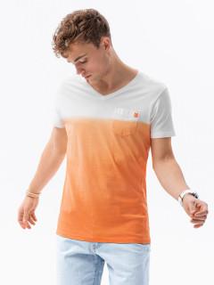 Meeste tavaline t-shirt S1380 - orange Bennett