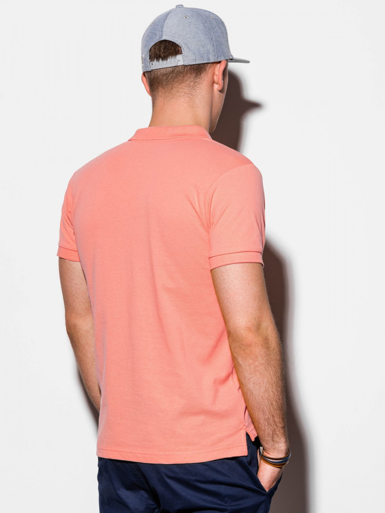Meeste polo särk Rory (koralli värvi)