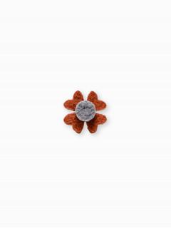 Men's lapel pin flower A241