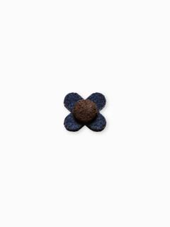 Men's lapel pin flower A242