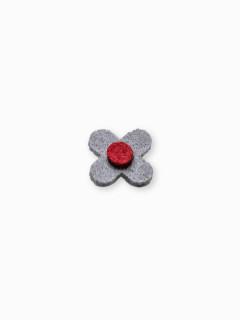Men's lapel pin flower A243