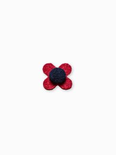 Men's lapel pin flower A244