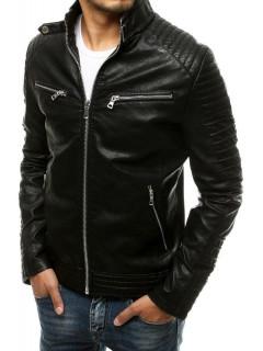 Vyriška odinė striukė (Musta) Mark