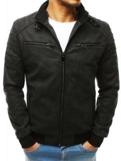 Vyriška odinė striukė (Musta) Cryton