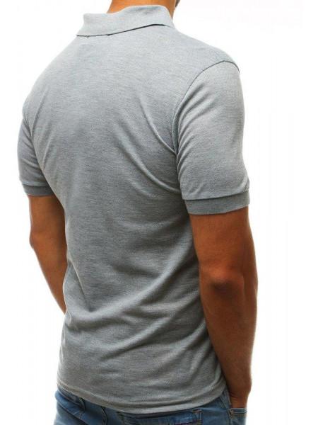 Meeste polo särk Cody (helehalli värvi)