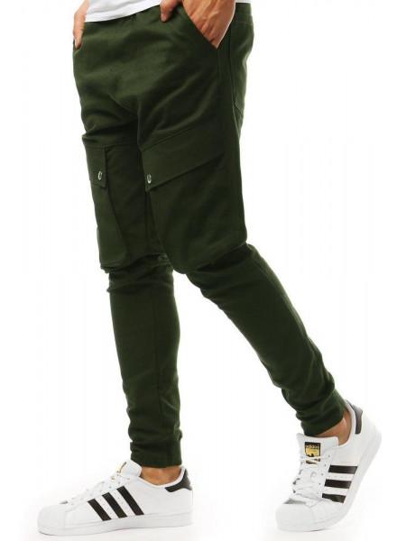Meeste püksid Jaxton (khaki värvi)