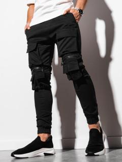 Meeste püksid (Musta) Hubert