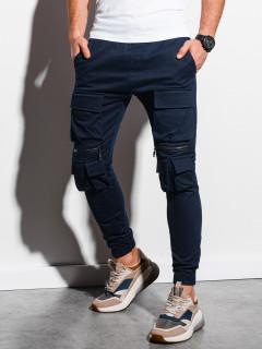 Meeste püksid (tume sinine) Edan
