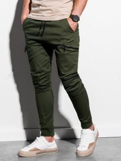 Lühikesed püksid (khaki värvi) Grego
