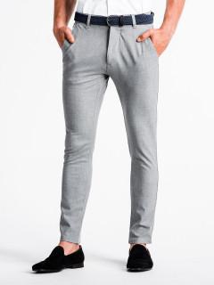 Meeste püksid Flynn (helehalli värvi)
